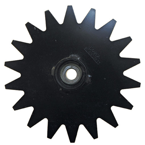 thompson closing wheel hub star for no till farming