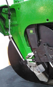 Valion seed tube guard with liquid capability in no till seeding