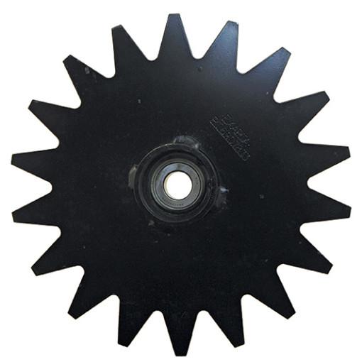 thompson closing wheel hub star for no till farming